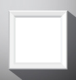 Empty Photo Frame vector image vector image