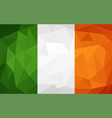 ireland flag vector image vector image
