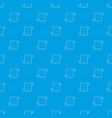 lift pattern seamless blue vector image vector image