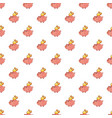 piggy bank pattern vector image vector image