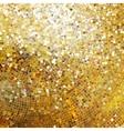 template design on gold glittering eps 10