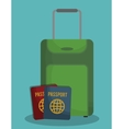 travel related icons image vector image