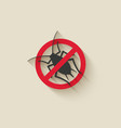 aphid icon insect pest vector image vector image