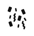 confetti icon vector image vector image