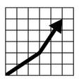 LineChart vector image vector image