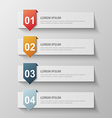 paper infographic62 vector image vector image