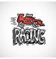 Racing Icon Sketch vector image vector image