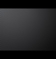 black metal perforated background vector image vector image