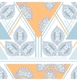Colorful seamless ethnic pattern Decorative vector image vector image
