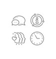 friends couple line icon friendship sign vector image vector image