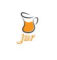 jar design template vector image