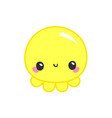 octopus fun logo baand kids goods kawaii baby vector image