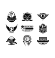 Sport team badge set