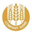 wheat logo vector image vector image