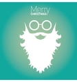 Christmas hipster poster for party or card vector image