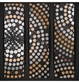 Abstract Mosaic Banner vector image