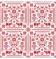 austrian german seamless pattern vector image