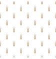 Beer bottle opener pattern cartoon style vector image vector image