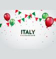 festive celebration party background italy vector image vector image