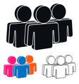 Human Resources Icon vector image