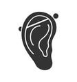 industrial piercing glyph icon vector image vector image