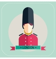 Royal Guard icon vector image vector image