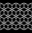 seamless pattern geometric triangular texture vector image vector image