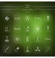 Set of chemistry icons vector image vector image