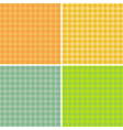 diamond pattern background collection vector image vector image