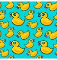 Ducks Pattern vector image vector image
