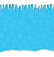 elegant winter festive blue background with vector image vector image