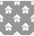 For rent seamless pattern vector image vector image