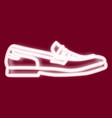 image of men s shoes vector image