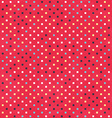 red dots texture with grunge effect vector image vector image