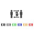 swingers exchange girl icon vector image vector image