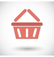 Basket for products vector image vector image