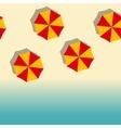beach vertical seamless vector image vector image