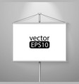 blank roll up vector image vector image