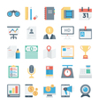 Digital Marketing Icons 4 vector image vector image