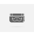 Grease Gel Moustache Mustache Element or Icon vector image vector image