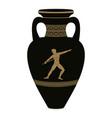 greek vase vector image vector image