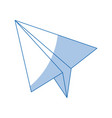 paper airplane business success motivation image vector image vector image