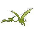 pterodactyl dinosaur flying vector image