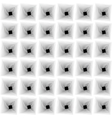 black and white optical vector image