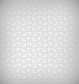 Jigsaw Puzzle Pattern on Grayscale vector image