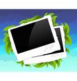 photo frames decorative vector image