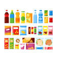 vending machine products vector image