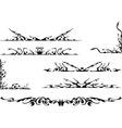 tribal ornate set vector image