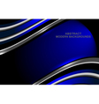 abstract dimension dark blue background vector image