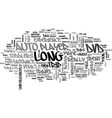 auto dvd player text word cloud concept vector image vector image